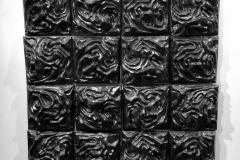 "Transmutation, 6' x 4' x 8"", stone cast. 2018"